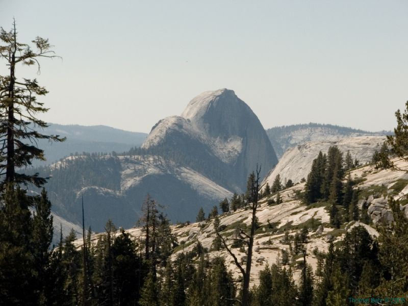 Half Dome from Olmstead Pt
